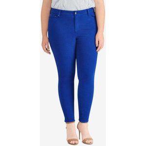 LORD & TAYLOR DESIGN LAB Blue Skinny Jeans
